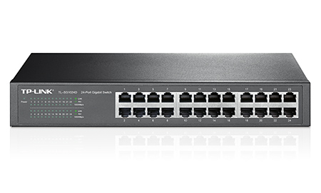 Switch TP-Link TL-SG1024D  24-port Gigabit Switch 10/100/1000Mpbs
