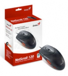 Mouse GENIUS Netscoll 120 Đen PS2