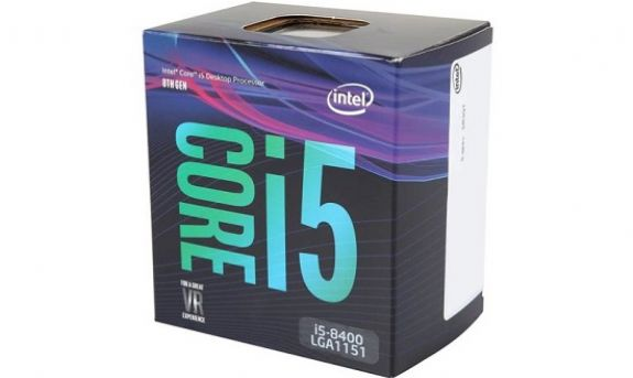 Intel Core i5-8400 (Up to 4.0Ghz/ 9Mb cache/ Socket 1151 v2) Coffee Lake 1